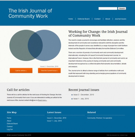 Irish Journal of Community Work