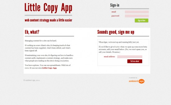 Little Copy App